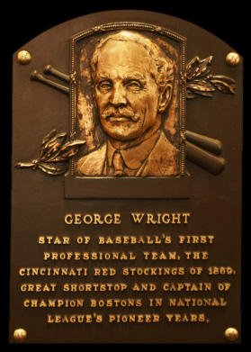 George Wright HOF